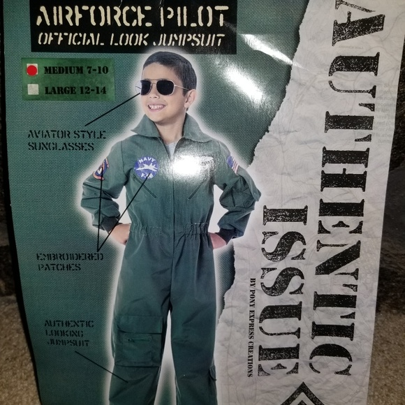 pony Express Other - Airforce Pilot costume